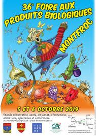LA FOIRE AUX PRODUITS BIOLOGIQUES DE MONTFROC est une vivace qui éclot chaque premier weekend d'octobre et exerce un fort pouvoir mellifère : exposants, artisans, producteurs, conférenciers, artistes et autres acteurs engagés s'y rassemblent chaque année afin de créer un lieu de partage et d'échanges autour des problématiques écologiques.